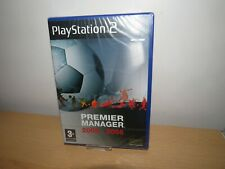 PS2 Premier Manager 2005-2006  UK Pal,  New & Sony Factory Sealed