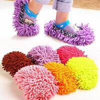 Home Slipper Dust Mop Clean Shoe Cleaning Towel Clean Floor Cleaning Tool New