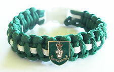 green howards paracord armband mit abzeichen