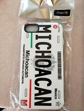 Michoacan License Plate iPhone 7/8 Case