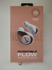 NCredible Flow In-Ear Truly Wireless Headphones - White/Rose Gold