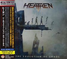 Heathen‎-The Evolution Of Chaos CD 2015- King Records Japan reissue‎-KICP 3330