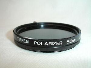 Tiffen 55mm Polarizer filter , Japan
