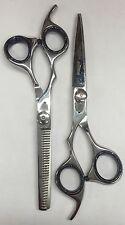 "6"" Hair (Cutting+Thinning) SET Barber Scissors Shears LEFT HANDED Very Sharp!"