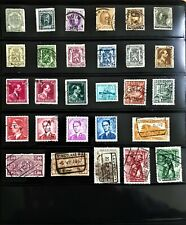 27 Belgium Used Stamps. Years 1893-1949. F/Vf/Xf. No dupes.