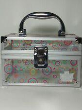 Caboodles My Style Small Cirlce Multi Colored Acrylic Train Case
