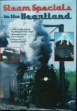 Steam Specials in the Heartland, a DVD by Yard Goat Images (UP 3985, MILW 261)