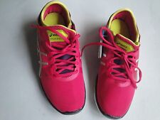ASICS Wo's Training: GEL-Fit Nova (S466N) Hot Pink/Silver/Lime, Size 5