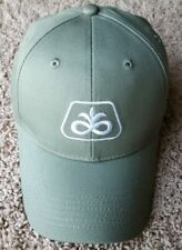 NEW DUPONT PIONEER SEED LOGO FARMER HAT CAP OLIVE GREEN STRUCTURED BASEBALL