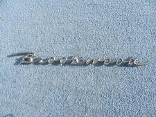 1958 Chevy Brookwood Wagon Script OEM