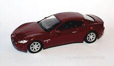 1/43 MASERATI GRANTURISMO COUPE vitrina DeAgostini SUPERCARS DIECAST MODEL CAR