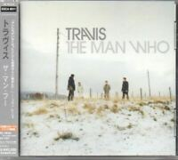 Travis The Man Who JAPAN CD with OBI 3 Bonus Track ESCA8011