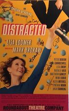 Cynthia Nixon + Cast Signed DISTRACTED Off Broadway Poster Windowcard
