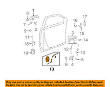 GM OEM Front Door-Lock Latch Kit 22820694