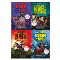 Last Kids On Earth 4 Books Paperback Children Collection By Brallier & Holgate