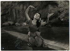 LE TOMBEAU HINDOU Indische Grabmal FRITZ LANG Debra Paget Original Photo 1959