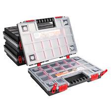 Sortimentskasten Kunststoff Sortimentsbox NORS14 DUO x3 Rot Sortierbox