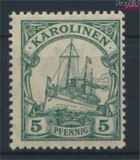 Carolines (Duits.Colony) A21 met Fold 1923 Schip Imperial Yacht Hohenz (9257262