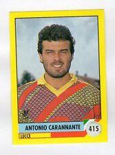 figurina IL GRANDE CALCIO VALLARDI 1992 NUMERO 415 LECCE CARANNANTE