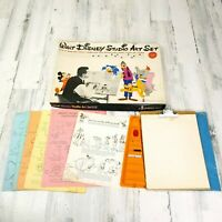 Official Walt Disney Studio Art Set Vintage 1961 Colorforms Art 3507