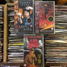 kung fu vhs tapes bundle Samo hung Jackie chan
