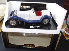 (B)BURAGO ALFA ROMEO 2300 SPIDER (1932) SCALA 1/18 DIECAST REF. 3008 IN BOX VGC