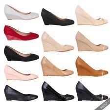 Slip On Solid Heels for Women
