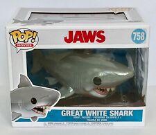 Jaws Great White Shark Funko Pop Vinyl Figure Brand New 758 Quint Brody Hooper