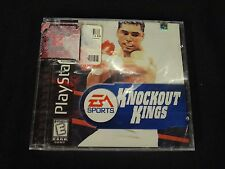 Knockout Kings 2001 (Sony PlayStation 1, 2000) Brand New Factory Sealed