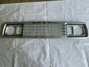 1977 1978 Dodge Truck Grill Ramcharger Grille Power Wagon Pickup Pick Up
