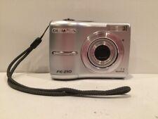 Olympus FE-210 7.1MP Digital Camera Silver TESTED