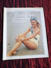RADIO TIMES - MISS WORLD - ANNABEL LEVENTON - KELLY MONTEITH-10-16 NOV 1979