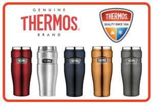❤ THERMOS Stainless King 470ml Vacuum Insulated Tumbler Flask Mug 5 Colors ❤