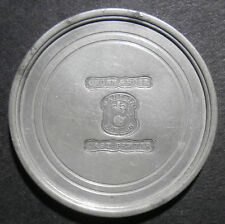 Award medallion - McDonald Cup 1934 - London pewter hallmarks Crown & Rose 44mm