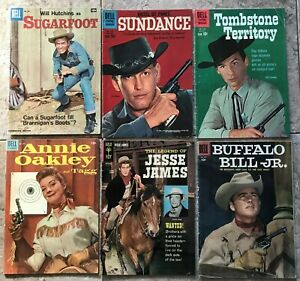 Sugar Foot, Sundance, Tombstone Territory, &  other Comic Books  Lot of 6