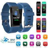 Montre Intelligente Bracelet Smartwatch Etanche Podomètre Fitness Tracker FR PS