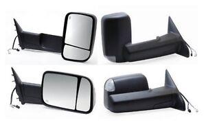 2010 2011 2012 Dodge Ram 1500 2500 3500 Passenger Power Heat Tow Mirror W/Signal