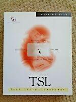 TSL Test Script Language Guide Computer Programming Book Mercury Interactive