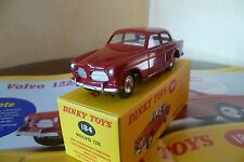 Dinky Toys 1:43 Volvo 122s n.184 De Agostini Atlas rouge red exclusif Italie new