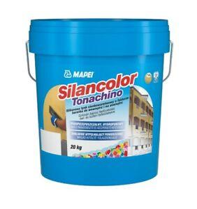 MAPEI Silancolor Tonachino 20kg Silikonharzspachtel Fassadenputz Silikonputz