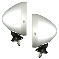 Set of 2 Spun Raydot Style Classic Racing Mirror for Ford Mustang GT40 AC