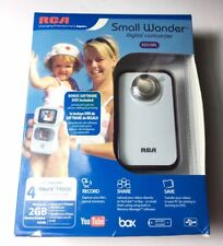 RCA Smal L Wonder Camcorder EZ215PL White Pink 2GB Micro SD Card