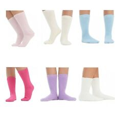 Womens Thermal Socks Brushed 3, 6, 12 Pairs UK Size 4-8 Colours Available Winter