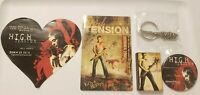 HIGH TENSION 2003 5 Original Horror Movie Promo Items Matches Keychain buttons