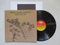 "LP 33T BOB DYLAN ""Slow train coming"" CBS SBP 237339 USA §"