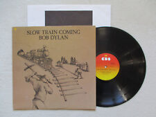 "LP 33T BOB DYLAN ""Slow train coming"" CBS SBP 237339 USA §"