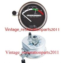 NEW AFTER MARKET JOHN DEERE TACHOMETER WHITE NEEDLE - RE206855