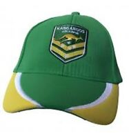 World Cup Australia Kangaroos - Hat Cap - Curved Brim - Rugby League