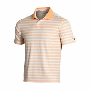 New Under Armour Performance Impact Stripe Golf Polo Pick Color
