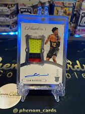 CAM REDDISH 2019-20 FLAWLESS ROOKIE 3 Color PATCH AUTO #7 /25 HAWKS 🔥